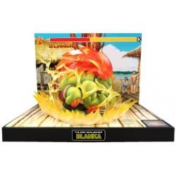 Dragon 3 - Bébé noir / yeux bleus - Peluche