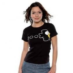 T-shirt Neko - Onizuka Cigarette - GTO - Noir - S