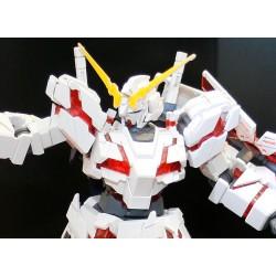 Mug transparent rouge - Flash - Logo