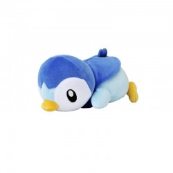 Pikachu Couché - Kurutsugi Time - Dekai Plush - 26cm